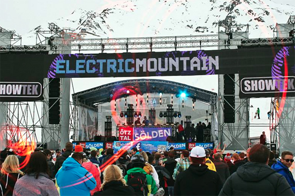 Electric Mountain Festival Soelden.