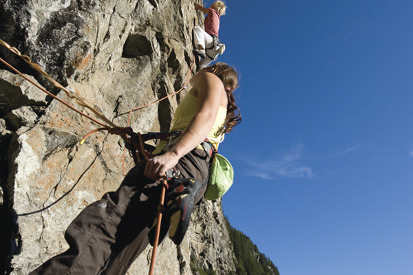 Climbing in the Ötztal